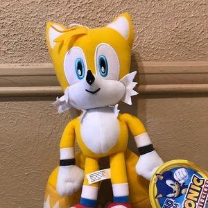 "RARE! Sonic the Hedgehog Plush Tails 12"" Sega 2020"